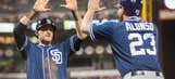Amarista drives in go-ahead run in Padres win
