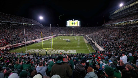 Michigan State Spartans: 5,300 sq. ft; 114 x 47