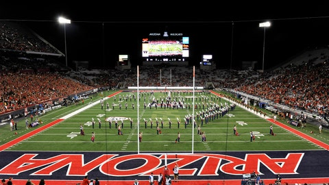 Arizona Wildcats: 5,264 sq. ft; 112 x 47