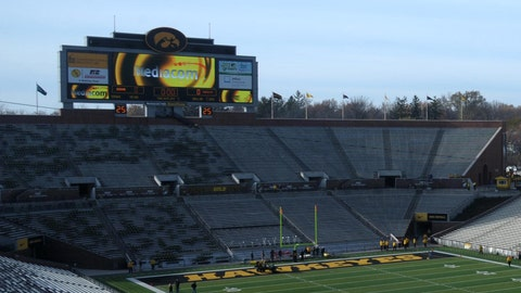 Iowa Hawkeyes: 3,782 sq. ft; 122 x 31