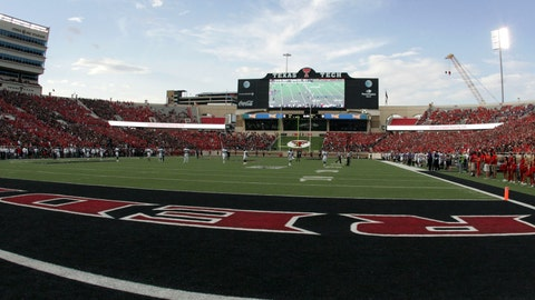 Texas Tech Red Raiders: 3,800 sq. ft; 100 x 38