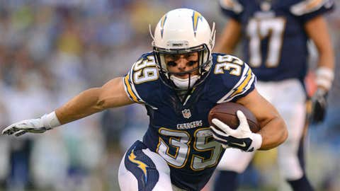 Danny Woodhead, RB, San Diego Chargers: Chadron State