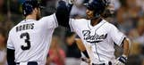Melvin Upton Jr homers twice in Padres' 9-0 win over Braves