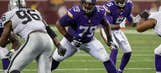 Former Charger OL Mike Harris a major asset to Vikings line