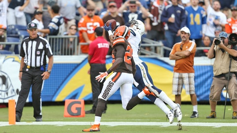 Chargers vs. Browns 10.04.15