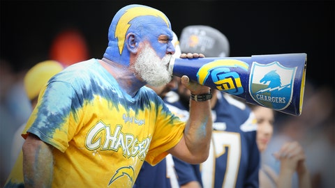 """Sights from Chargers vs.€"""" Raiders 10.25.15"""