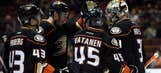 Scuffling Ducks and 'Canes face off Monday night