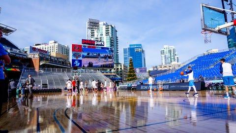 San Diego State vs. University of San Diego at Petco Park 12.06.15