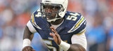 Chargers place franchise tag on linebacker Melvin Ingram