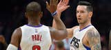 Clippers beat Rockets in OT behind Redick's 40 points
