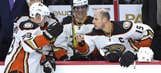 Perry, Ducks, take on Blue Jackets