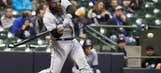 Norris, Upton Jr. homer in 12th, Padres beat Brewers 8-7