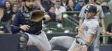 Weary Padres lose 3-2 to Brewers