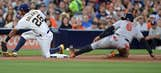 Padres-Orioles end series in Wednesday matinee
