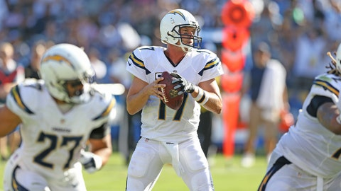 Chargers Win Over Jaguars 38-14