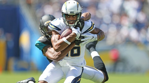 Tyrell Williams, WR, Chargers (knee): Questionable