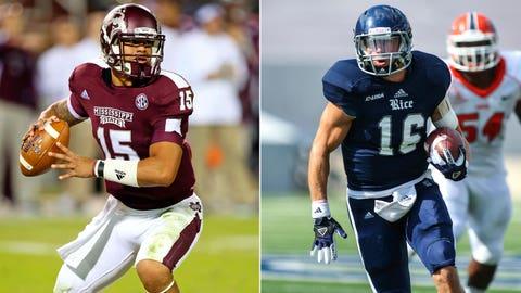 Liberty Bowl: Mississippi State vs. Rice