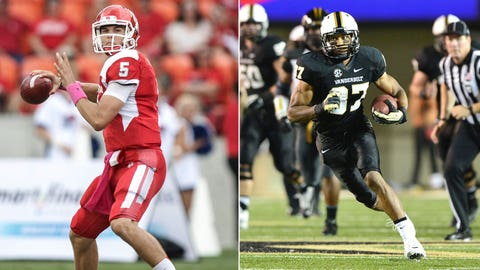 BBVA Compass Bowl: Houston vs. Vanderbilt