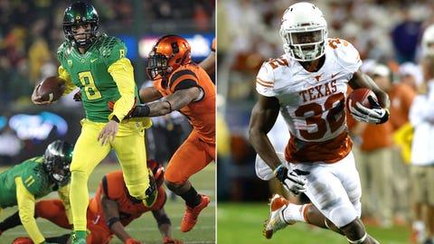 Alamo Bowl: Oregon vs. Texas