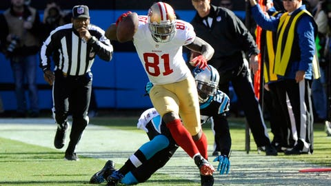 WR Anquan Boldin, 49ers
