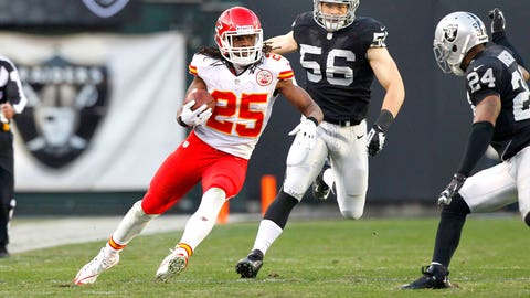 RB Jamaal Charles, Chiefs