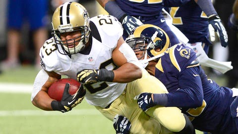 RB Pierre Thomas, Saints