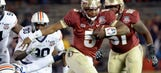 Florida State leads Fox Sports South's early TV sked for college football