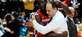 UGA coach Fox emotional over upset win days after father's death