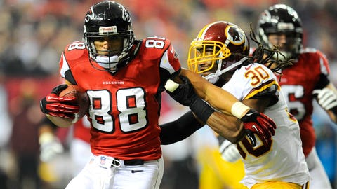 TE Tony Gonzalez, Falcons
