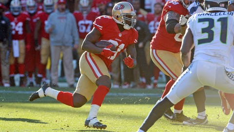 RB Frank Gore, 49ers