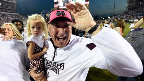 Coach of the Year: Dan Mullen, Mississippi State