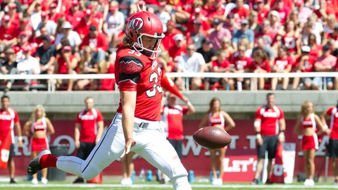 Guy (Top Punter): Tom Hackett, Utah