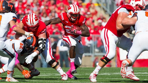 Doak Walker (Top RB): Melvin Gordon, Wisconsin