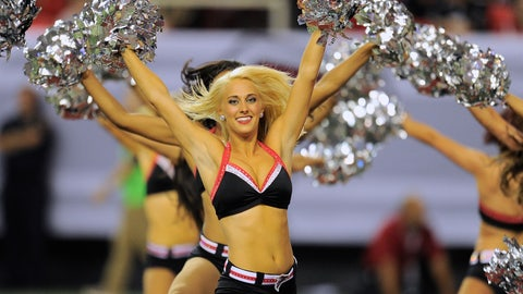 Cheerleaders of FOX Sports South