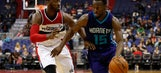 Jefferson powers Hornets past Wizards
