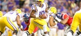 LSU clinches upset of No. 3 Ole Miss with last-second INT