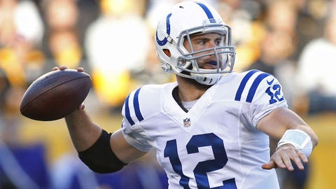 QB: Andrew Luck, Colts