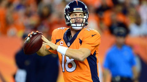 QB: Peyton Manning, Broncos