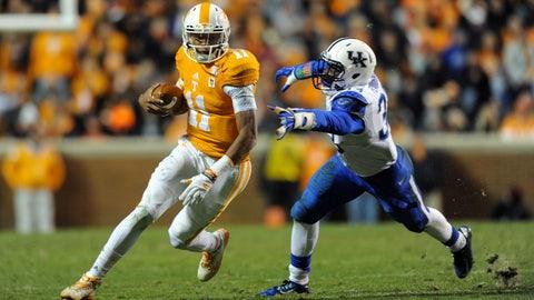 17. Joshua Dobbs, QB, Tennessee