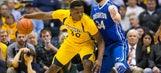 Iowa State's Deonte Burton wins dunk contest wearing boots