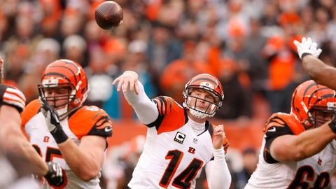 BENGALS (-9.5) over Browns (Over/under: 46)