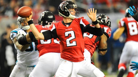 #4 Seed -- Atlanta Falcons
