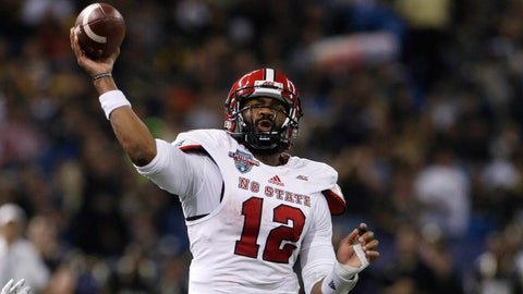 Atlantic Passing: Jacoby Brissett, Senior, N.C. State (2,606 yards)