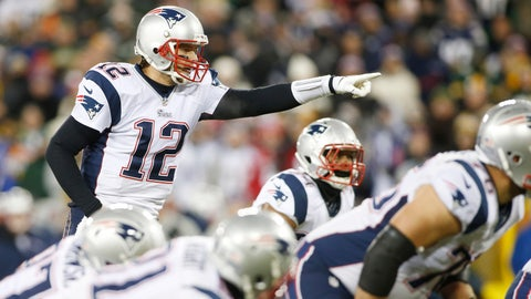 #1 Seed - New England Patriots