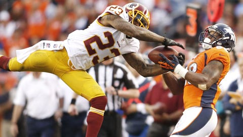 CB DeAngelo Hall, Redskins