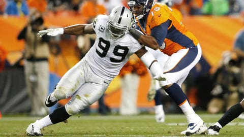 DE Lamarr Houston, Raiders