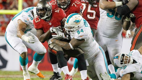 DT Randy Starks, Dolphins