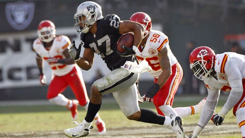 RB Rashad Jennings, Raiders