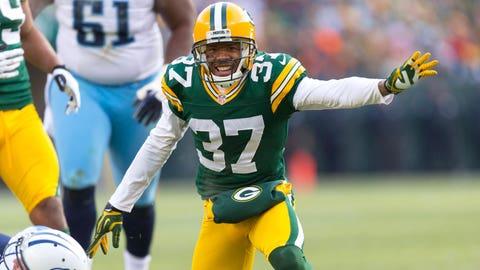 CB Sam Shields, Packers