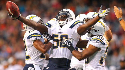 LB Donald Butler, Chargers